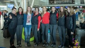 Националният отбор по художествена гимнастика отпътува за участие на Световната купа в Баку