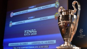 Борис Касабов зад микрофона на голямото дерби между Байерн и Реал