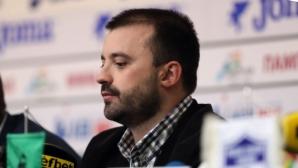 Людмил Хаджисотиров очаква интересна плейофна серия срещу Берое
