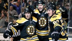 Бостън елиминира Торонто в първия кръг от плейофите в НХЛ