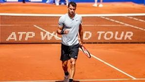 """""""Тенис маратонът"""" не попречи на Григор да отдели време за феновете (видео)"""