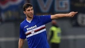 Трансферна цел на Рома преподписа със Сампдория