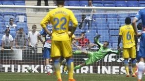 Еспаньол пак си поигра с нервите на публиката (видео)