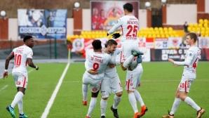 Спартак (М) остави Занев и Амкар в зоната на здрача (видео)