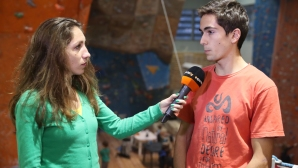 Петър Иванов втори на европейската купа по спортно катерене в Австрия