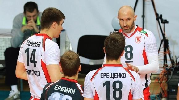 Белогорие спечели 5-ото място в Русия в последния мач на легендарния Сергей Тетюхин (видео + снимки)