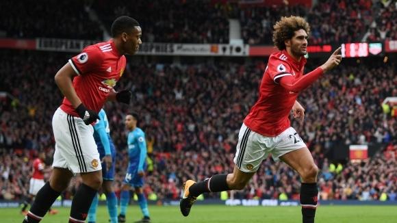 Манчестър Юнайтед и Маруан Фелаини сядат за нови преговори в края на седмицата