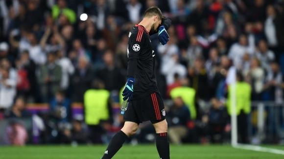 Вратарят на Байерн: Без значение от моята грешка се нуждаехме от два гола