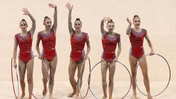 Българският ансамбъл поведе в класирането за многобоя на турнира в Гуадалахара