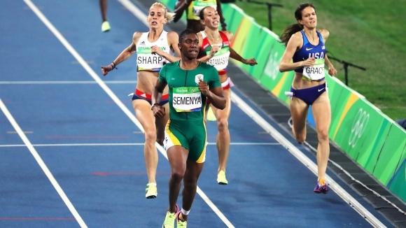 Кастер Семеня спечели на 1500 метра в Доха с нов рекорд на Южна Африка