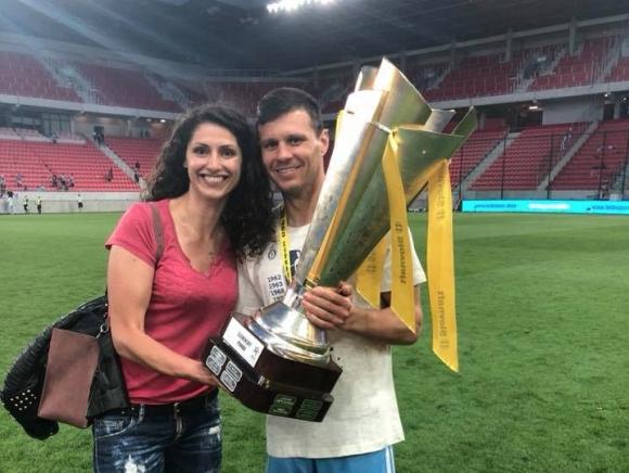 Ева Янева вдигна футболната Купа на Словакия