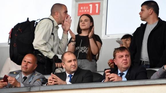 ЦСКА-София: Благодарим на г-н Радев, г-н Каракачанов и г-н Кралев, имаме генетична връзка с българската армия