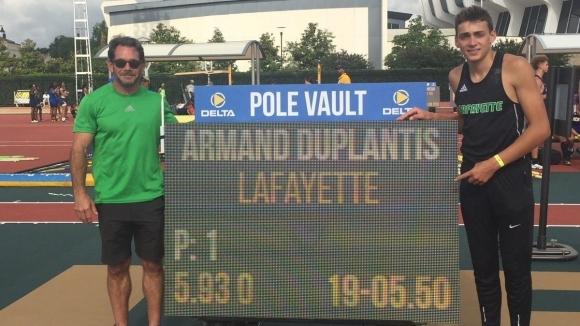 Чудото Дуплантис няма спирка, подобри още един световен рекорд