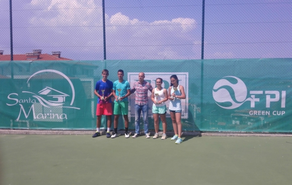 Мартин Илиев и Цвети Йотова спечелиха Държавния турнир по тенис до 18 години