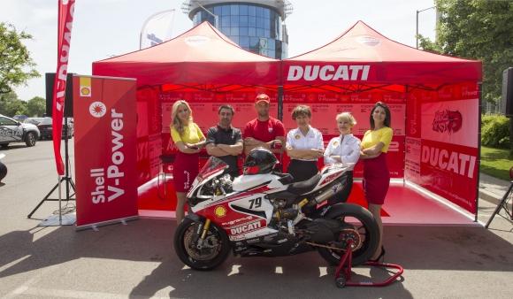 Ангел Караньотов и Shell България представиха плановете си за състезателния сезон