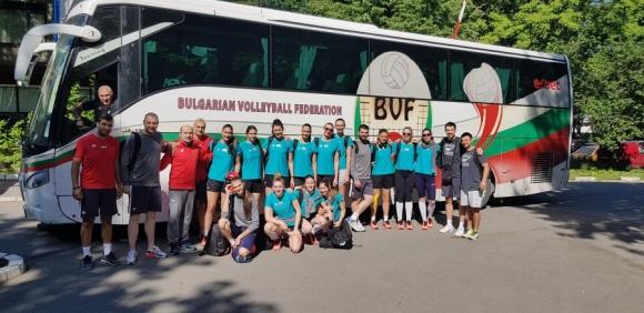 Волейболистките на България гостуват на Сърбия за 2 контроли