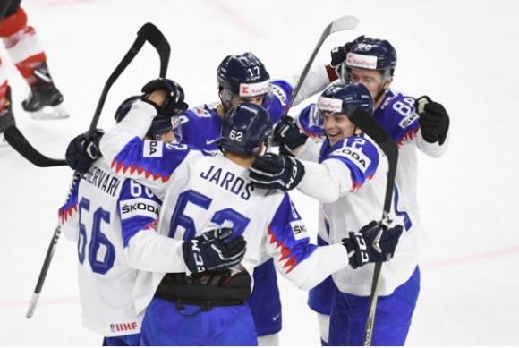 Словакия победи Австрия след обрат на световното по хокей на лед