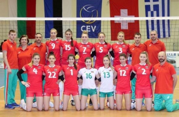 България в домакинската група за Евроволей U19 в Албания