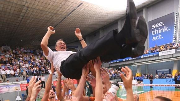 Геният Стелиан Мокулеску изведе Берлин РВ до титлата в Германия (видео + снимки)