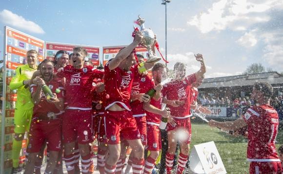 Конас Куей Номадс спечели за първи път Купата на Уелс