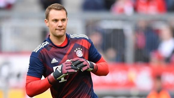 Нойер с шанс да играе във финала за Купата на Германия