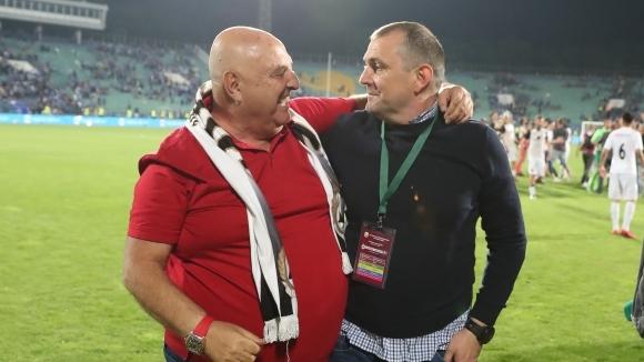В Славия ще продължат да залагат на млади футболисти
