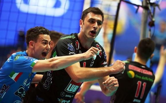 Цецо Соколов и Лубе отново не спряха Зенит към рекордна 4-а поредна титла в ШЛ (видео + снимки)