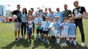 """Над 350 """"дракончета"""" се включиха в пролетен футболен турнир"""