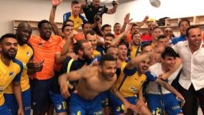 Отборът на Живко Миланов стана шампион на Кипър срещу тима на Влади Гаджев