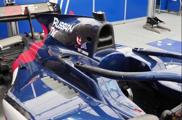 Ореолът спасил живота на пилот от Формула 2 (видео)