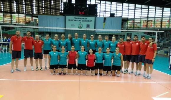 България удари Словения с 5:0 в първата контрола в София