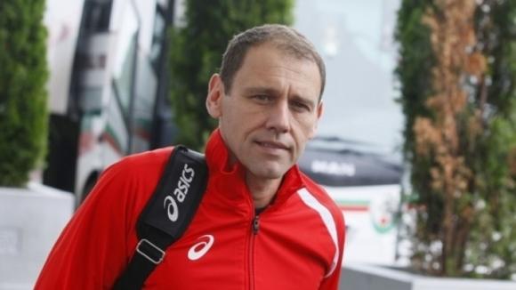 Миро Живков в щаба на мъжкия национален отбор
