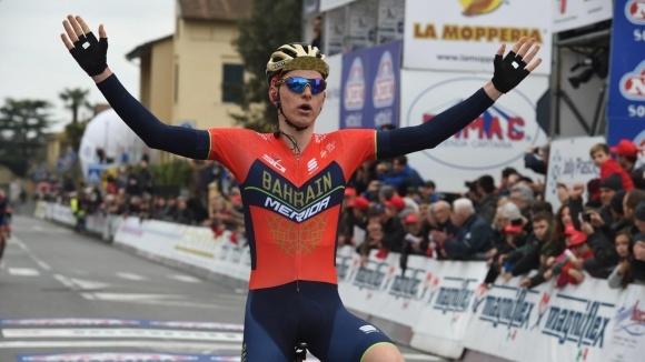Словенец спечели десетия етап на Обиколката на Италия