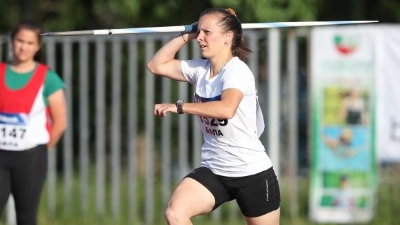 Елена Узунова заслужи победата на копие, атлети на КЛАСА №1 диск