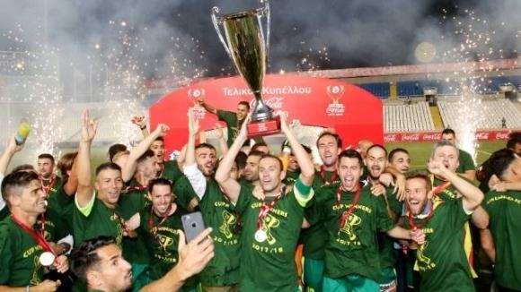 АЕК (Ларнака) спечели Купата на Кипър за втори път в историята си