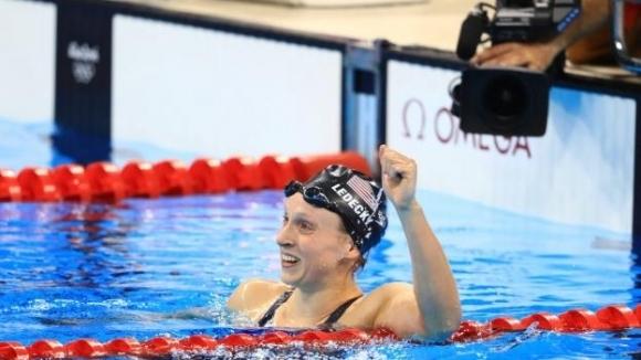 Кейти Ледецки подобри световния си рекорд на 1500 метра свободен стил