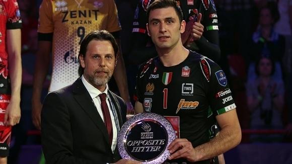Соколов подкрепи своите съотборници в националния отбор