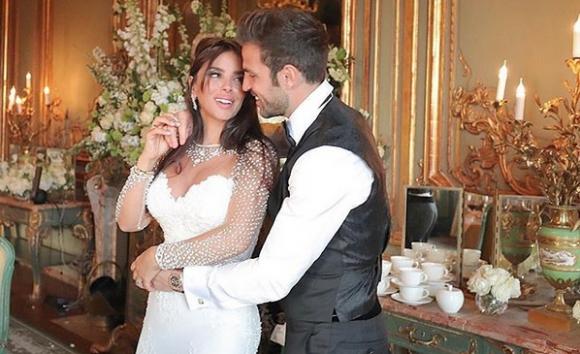 Сеск Фабрегас най-накрая се престраши да се ожени (снимки)