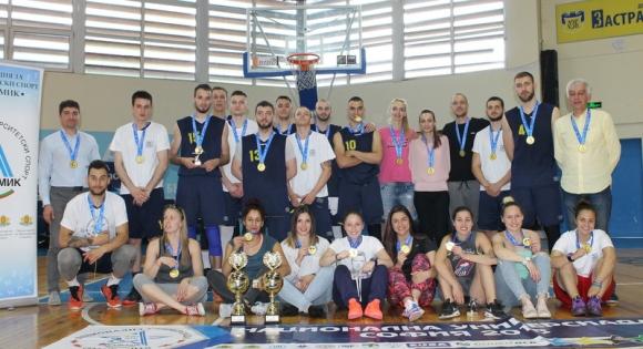 НСА триумфира в баскетбола на Националната универсиада
