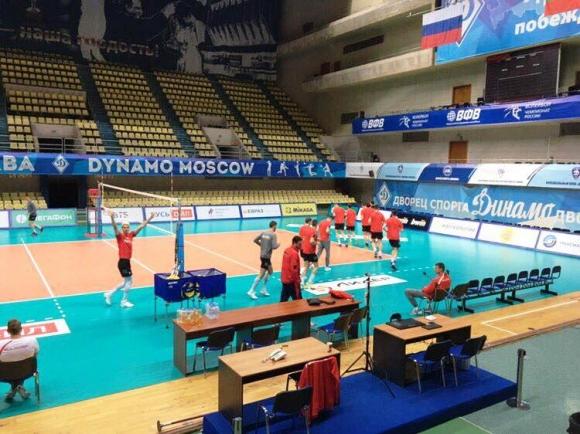 Волейнационалите с първа тренировка в Москва (видео + снимки)