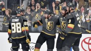 Лас Вегас поведе с 2-1 победи във финала в Запад
