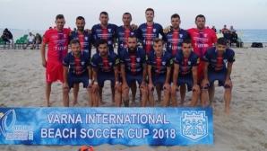 МФК Спартак обърна шампиона на Англия на старта на Varna International Beach Soccer Cup