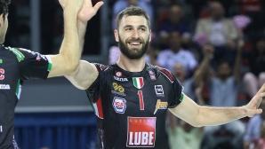 Цветан Соколов подписа с Лубе до 2021 година