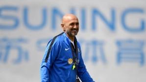 Спалети: Интер заслужава повече от всеки друг да играе в Шампионската лига