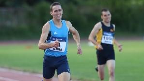 Алекс Василев с много силен резултат на 800 м в Ханя