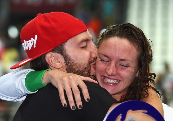 Катинка Хошу призна, че се е разделила със своя съпруг и треньор