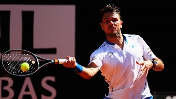 Вавринка отпадна на четвъртфиналите в Женева