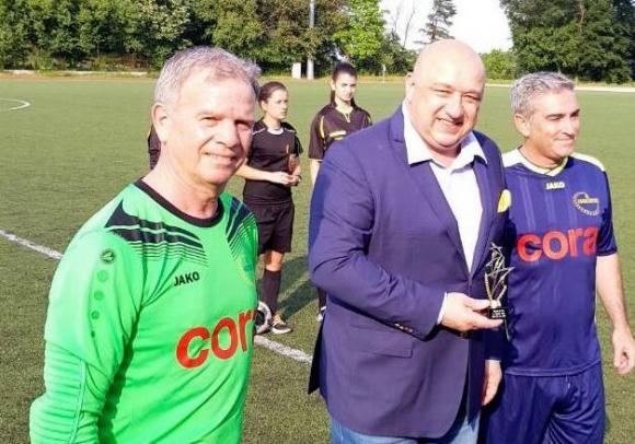 Министър Кралев посрещна представители на Генералния секретариат на Съвета на ЕС за приятелски футболен мач