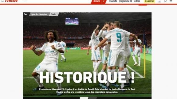 Медиите се прехласнаха по Реал Мадрид