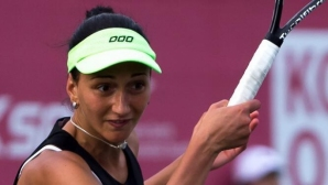 Найденова се класира за четвъртфиналите на двойки в Китай